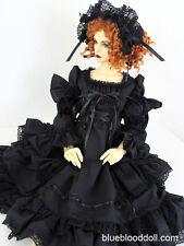 1/3 BJD 62-65cm female doll SD16 Feeple 65 Soom outfit gothic dress set ship US
