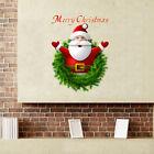 Removable Merry Christmas Santa Claus Wall Sticker Window Sticker Home Decor