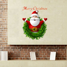Removable Merry Christmas Santa Claus Wall Sticker Window Sticker Home Decor
