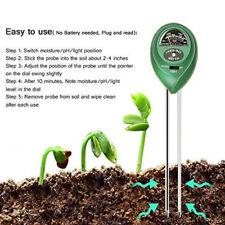 3 in 1 Digital PH Tester Sunlight Soil Moisture Meter Detector Plant Garden