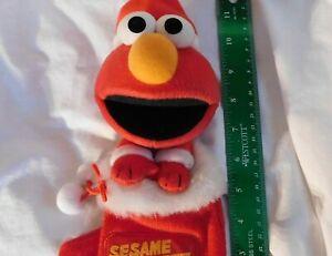 Japanese Elmo Plush Christmas Stocking Sesame Street Universal Studios Rare