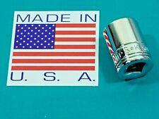 Vintage Sk Nos Metric 15Mm 3/8 Drive Socket P/N 315 6pt Made In America Tool Lot
