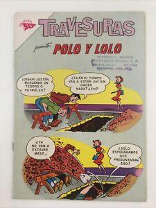 1963 SPANISH MEXICAN COMICS TRAVESURAS #3 POLO Y LOLO NOVARO SEA MEXICO