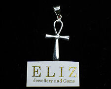 Ankh .925 Sterling Silver  Egyptian Key of Life Pendant Symbol/Charm 3.4 GRAMS