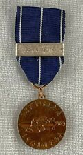 Original Finland  WW II 1941-45 Medal of The Continution War with Lappland Clasp