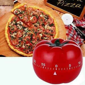 Kitchen Timer 60Minutes Cooking Mechanical Countdown Tools Alarm Tomato B4V6