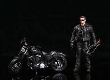 1/12 Harldy Motorcycle 833 Model For T800 The Terminator Arnold Schwarzenegger