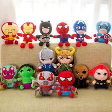 25cm Superhero Captain America Ironman Spiderman Loki Thor Stuff Soft Plush Toys