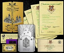 Harry Potter PERSONALISED Hogwarts Acceptance Letter + Maps, Spells & MORE