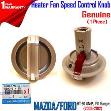 Genuine Mazda BT-50 UN Heater Fan Speed Control Knob 2008-2011 UB9C61195 Vent