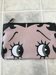 NEW Betty Boop X IPSY  Makeup Sequined Glam Bag Oct 2019