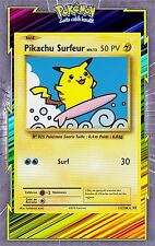 🌈Pikachu Surfeur Secret-XY12:Evolutions-111/108 - Carte Pokemon Neuve Française