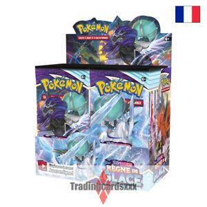 Pokémon - Boite de 36 Boosters EB06 Épée et Bouclier: Règne de Glace