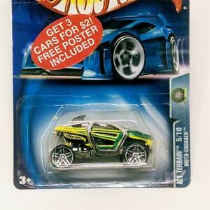 2003 Hot Wheels Alt Terrain 5/10 Moto-Crossed UTV ATV SxS Chrome Green PRs 5sp