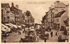Prince's St - Bridlington - 1912 Vintage Original Postcard Britannia Hotel (142)