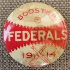 New ListingBaseball Memorabilia Federal League Boston Federals Pin Issued In 1914