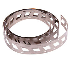 2 M Solid Pure Nickel Strap Strip Spot soudure 18650 Offset Belt 0.15x18.5mm