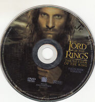 The Lord of the Rings: The Return of the King DVD, 2004 Full-Screen DISC ONLY