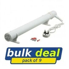 HYCO Calentador Tubular 4 ft (approx. 1.22 m) 9 Pack a granel trato Para Galpones kennals Garage invernadero