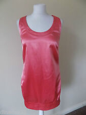 River Island chic dress size 12 pink short brand new