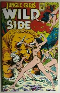 JUNGLE GIRLS WILD SIDE #14 (1993) AC Comics B&W GGA FINE