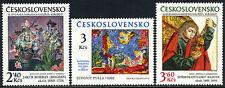 Czechoslovakia 2209-2211, MNH. Slovak National Gallery,30th ann. Paintings, 1978