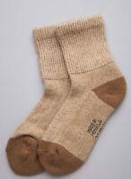 Mongolian Brown Camel Socks
