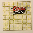 Coors Light Beer Iron On Patch Embroidered