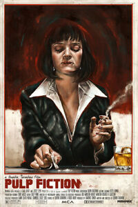 Pulp Fiction Movie Silk Print New Painting Wall Art Home Decor - POSTER 24x36