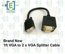 StarTech  1ft VGA to 2 x VGA Video Splitter Cable