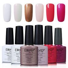 Elite99 UV LED Nagellack Gel Polish Farbgel Nagelgel Gellack Nail 6 Farben Set