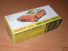 Dinky #011454 Matra Bagheera            BOX ONLY