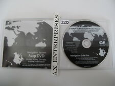 Authentic Cadillac DTS SRX Navigation DVD # 425 4.1c Map © Sep 2008 Edition 2009