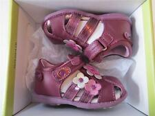 BEEKO Toddler Girls - US Size 5 - LEATHER SANDAL LILAC Pontia (#124)