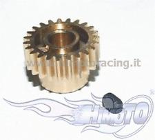 H181 PIGNONE MOTORE 21T DENTI MODELLI 1/10 FORO 5mm MODULO 0.6 MOTOR GEAR HIMOTO
