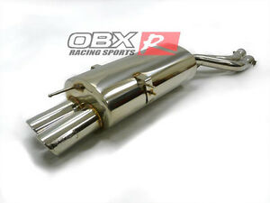 OBX Exhaust Rear Section for 2001-2006 BMW E46 325 330 ci xi