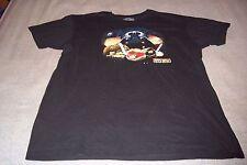 Angry Birds Star Wars T-Shirt Darth Vader Chewbacca Death Star Mens 2XL