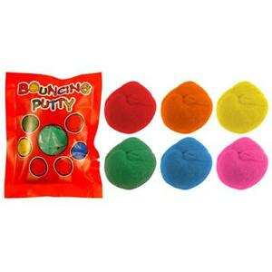 Bouncing Putty Available in Assorted Colours   Party Bag Filler   Piñata Filler