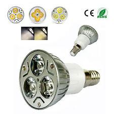 E14 Cool White 3W High Power LED Lamp Light Bulb  85V-265V