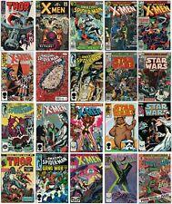 Silver Bronze Age Marvel Comic Lot X-Men Amazing Spiderman Thor Star Wars $390+