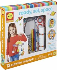Kids Fun arts and crafts busy school Alex Toys Ready set Space Learning Kit