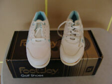Foot-Joy Green-Joys Golf Shoes Women's Sneakers White Size 6.5M