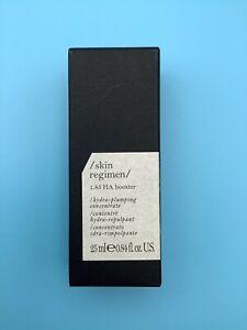 Skin Regimen 1.85 HA Booster Hydra-plumping Concentrate MSRP $115.00  NIB