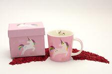 PPD Trend Mug Becher Porzellan Pink Unicorn white (Einhorn) 350 ml