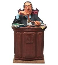 """The Judge by Guillermo Forchino Caricature Figurine Miniature 14""""H New"""