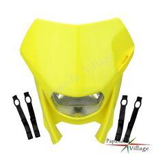 Universal Dirt Bike Motorcycle Vision Headlight Street Fighter Lamp For Suzuki