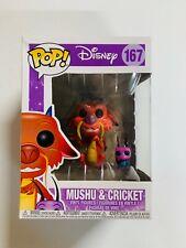 Funko Pop Disney Series 8: Mulan - Mushu & Cricket *Damaged*