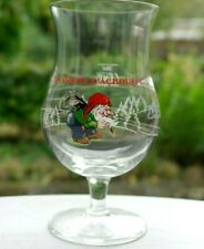 ♦ VERRE A BIERE CHOUFFE 33CL BEER GLAS CHOUFFE 33CC Belgium Glas bier  ♦