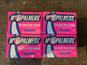 Mrs Palmers Soft board Wax - Pack of 4 x 70g Bars.