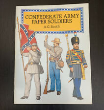 Confederate Army Paper Soldiers A.G. Smith Vintage Unused Civil War Education